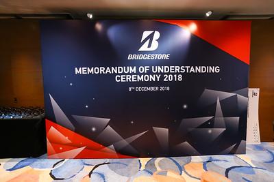 Bridgestone Memorandum of Understanding 2018