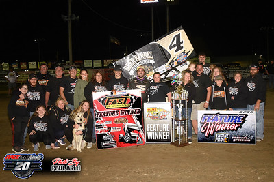 Fremont Speedway - All Star Sprints - 10/9/20 - Paul Arch
