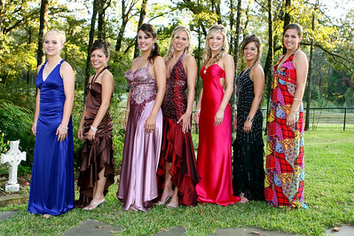 2007 Canton High School, Homecoming Court