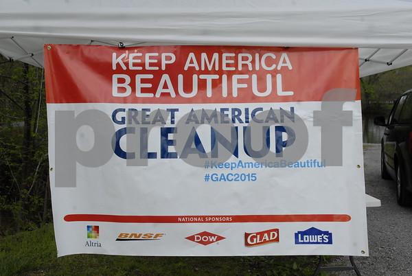 Keep Unicoi Beautiful Cleanup - April 2015