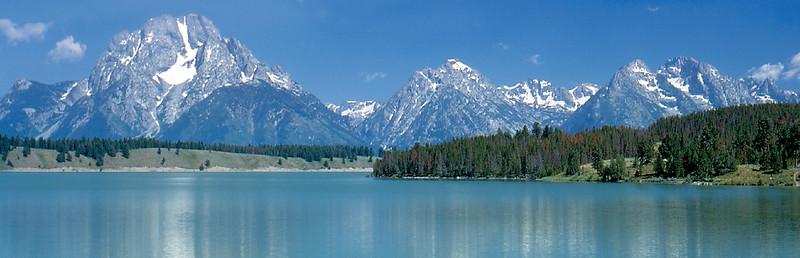 Mount Moran from Jackson Lake