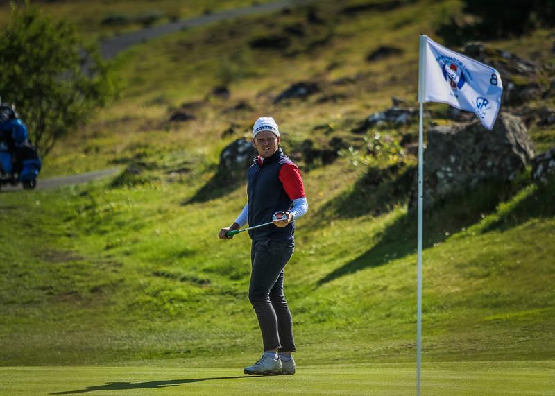 GA, Víðir Steinar Tómasson Íslandsmót í golfi 2019 - Grafarholt 2. keppnisdagur Mynd: seth@golf.is