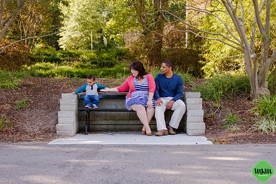 The Asekhauno Family | A Pullen Park Family Session