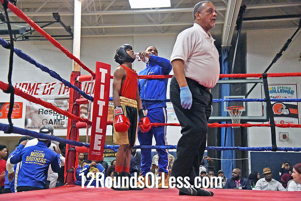Bout #12:  Abdullah Mason, Little Giants BC, Cleveland, OH   vs  Kuwardeep Manu, King of the Ring BC, Ontario, Canada  -  119 Lbs.
