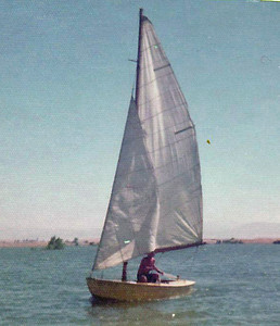 My first boat - Rebel
