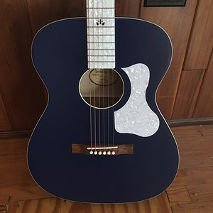 Recording King CENTURY33 Limited Edition 000 Acoustic Guitar, Wabash Blue