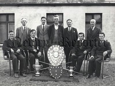 INF Warrenpoint Billiard Team winners 1939