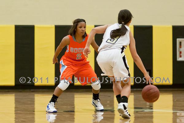 Girls Varsity Basketball # 2 - 2011