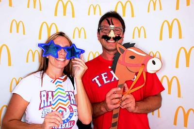 McDonald's - Texas Rangers vs Rays