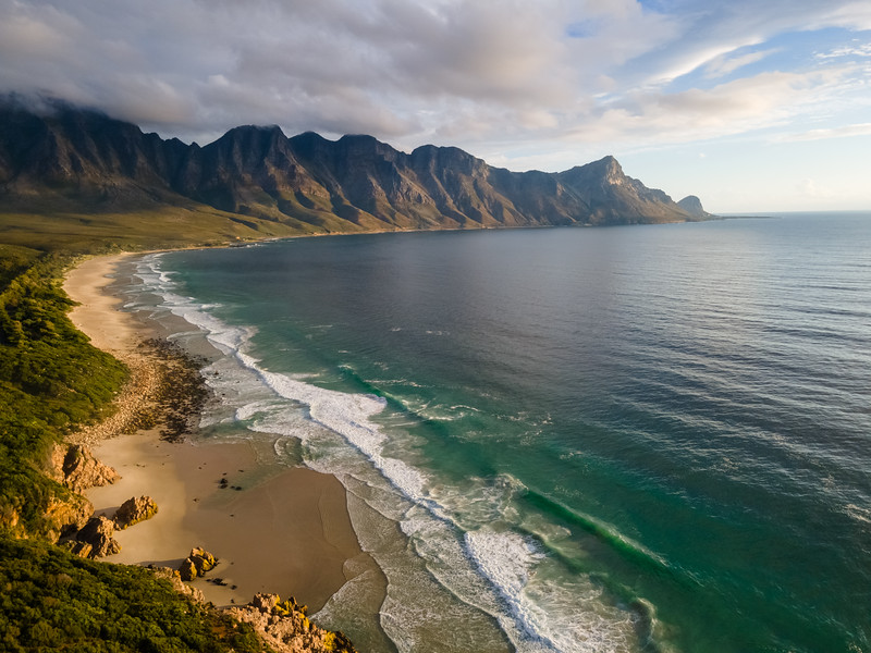 Kogel Bay beach, Cape Town, South Africa