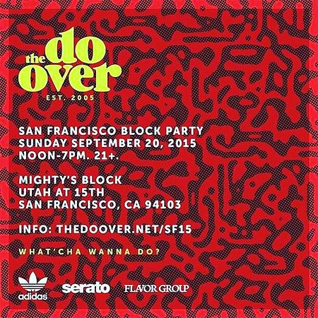 FranBoogie Presents The Do Over SF 9.20.15