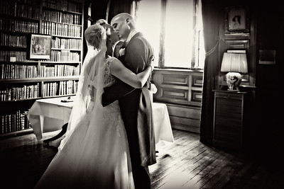 Anouska and Marcus' Winter Wedding at Holdenby House