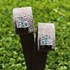 Art Deco Diamond and Emerald Disc Earrings 17
