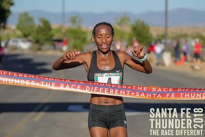 Half Marathon Finish Santa Fe Thunder 2018
