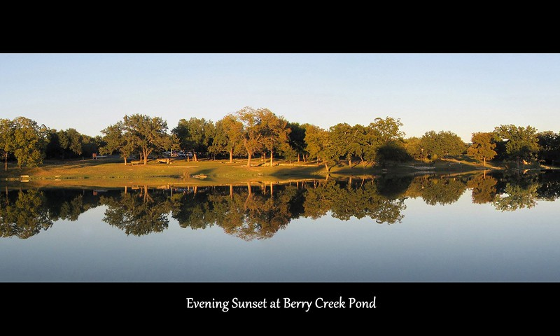 04-Evening Sunset at Berry Creek Pond.jpg