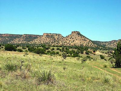 Oklahoma highpoint - Black Mesa hike: July 11, 2006