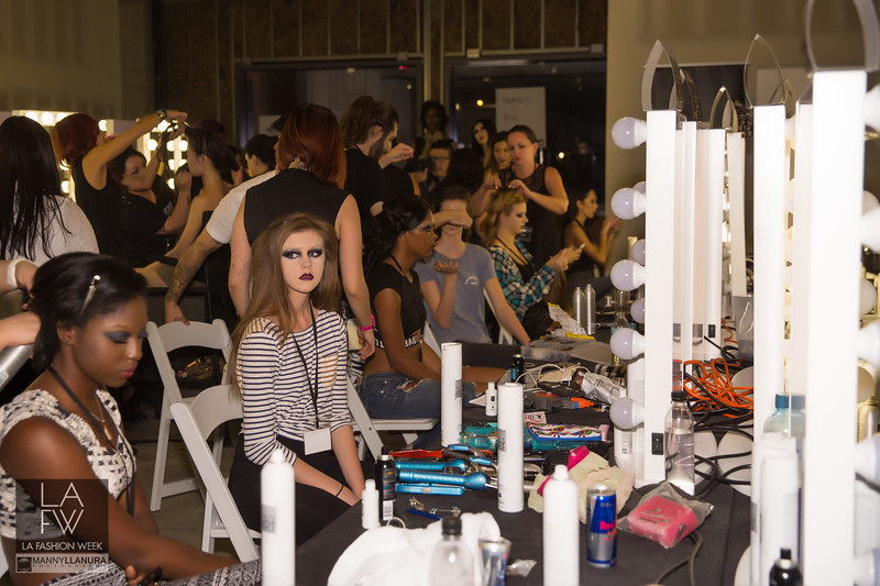 LAFW 2016 BTS Behind the Scene and Red Carpet