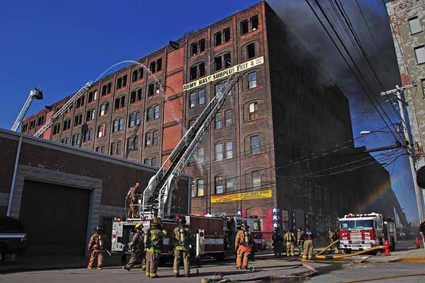 Buffalo Fire Video - 290 Larkin