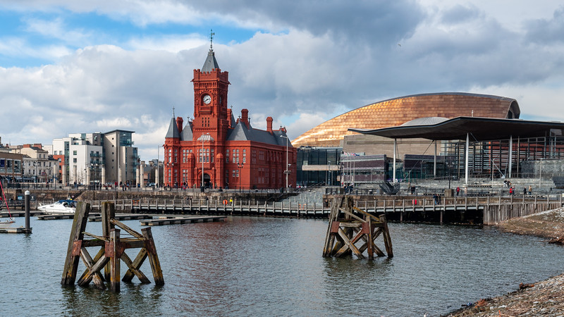 Pierhead in Cardiff Bay