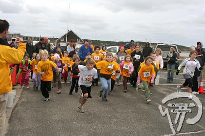 Shuck and Run — 1.4M Children's road race — wellfleet, ma 10 . 19 - 2008