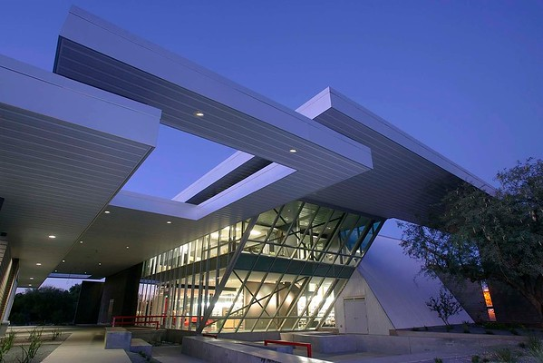 99-8119 Poetry Center / Helen S Schaefer Building