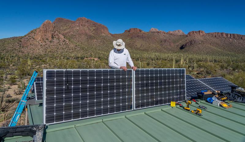 Solar Panel Installation #7