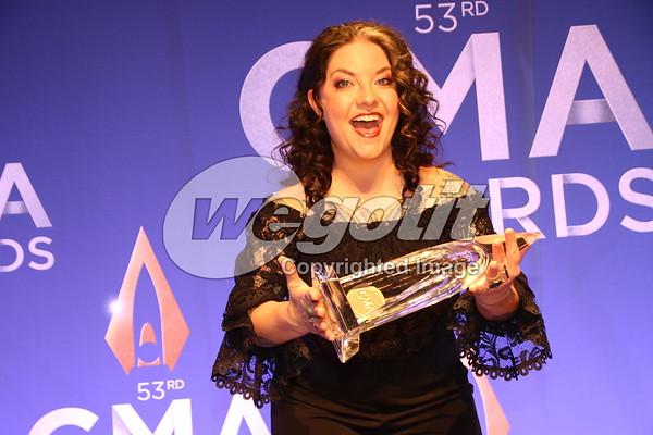 CMA Awards 13-NOV-2019 Pressroom