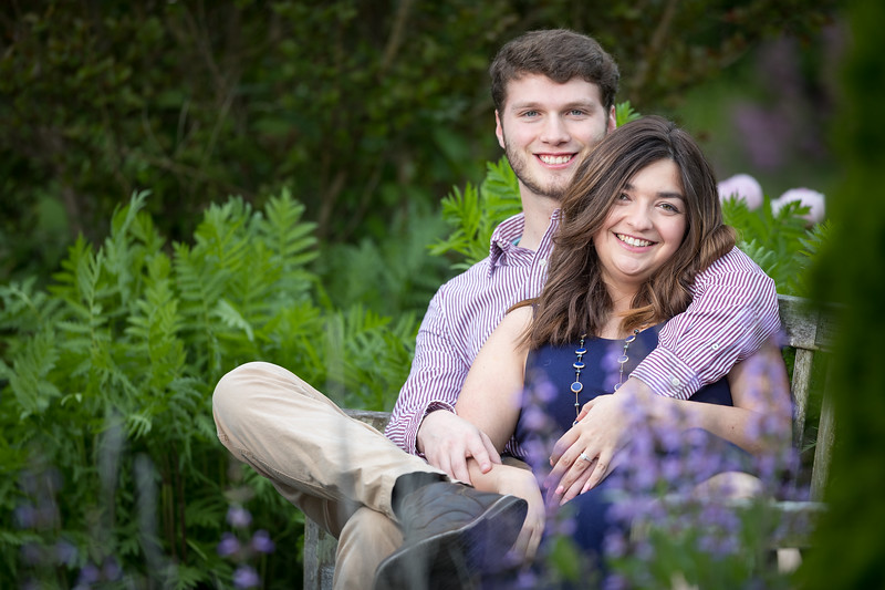 Laura & Luke at the UK Arboretum 5.13.19
