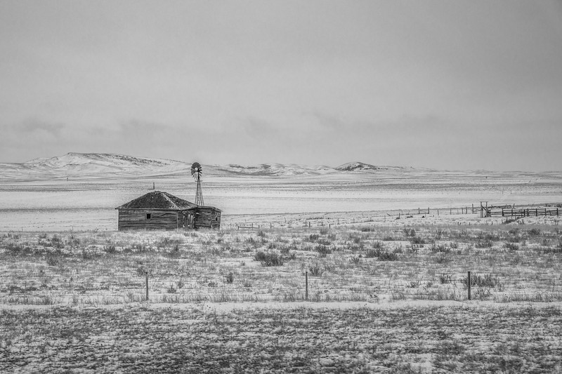 Eastern Wyoming Abandoned Cabin