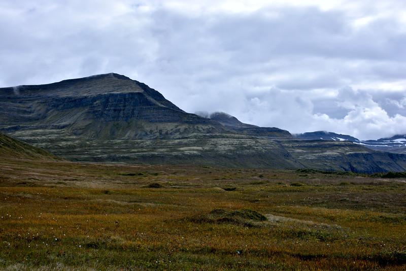 Þokan tekin að færast neðar