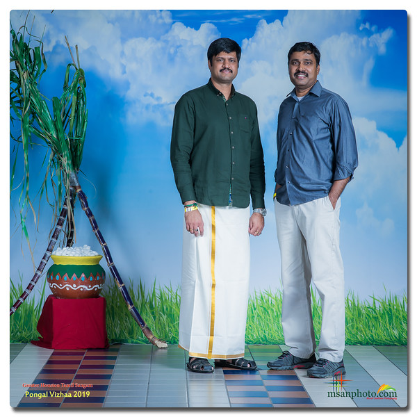 Greater Houston Tamil Sangam - Pongal Family Portraits 2019