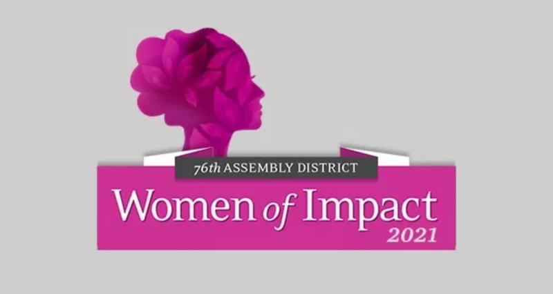 Foundation Board Member Raye Clendening receives 2021 Women of Impact Award