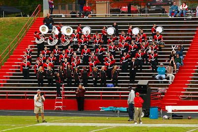 GWU Marching Band Homecoming Performance