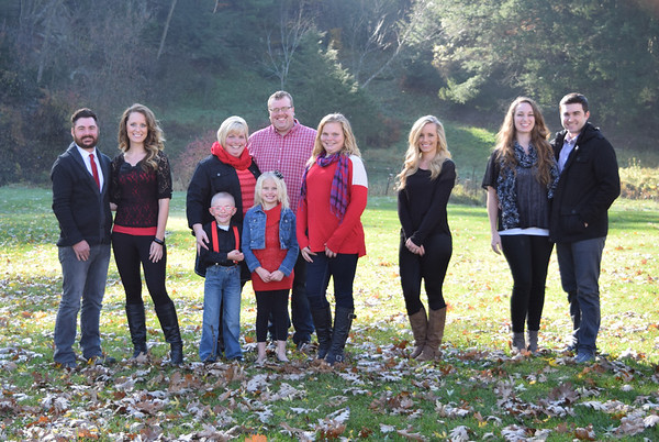Pingel extended family 2015