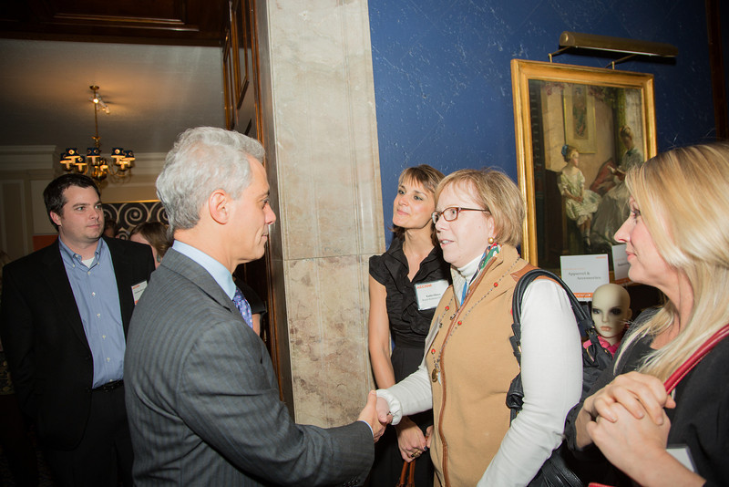 Rahm and attendees.JPG