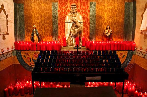 Candles - Mission San Juan Capostrano - San Juan Capostrano, California