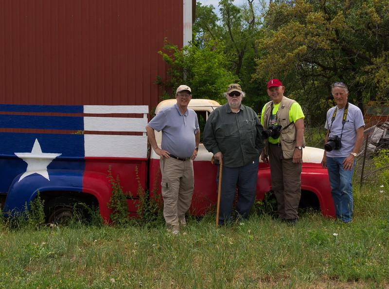 Me, Dave Billingsley, Wayne Wendel, and Scott Meyer.