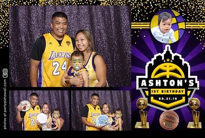 Ashton's 1st Birthday (Mini LED Open Air Photo Booth)
