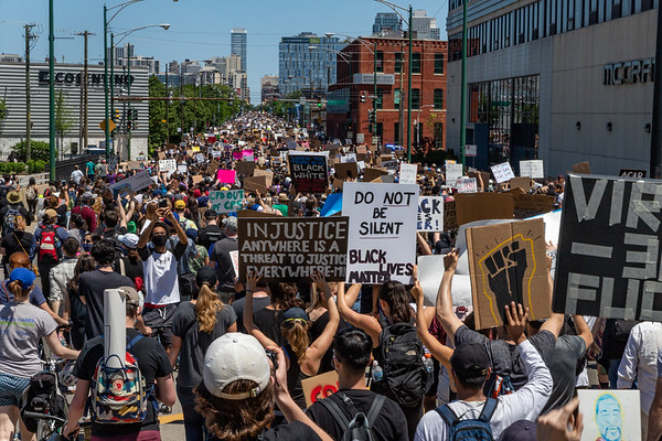 BLM March from Union Park - 6/6/20