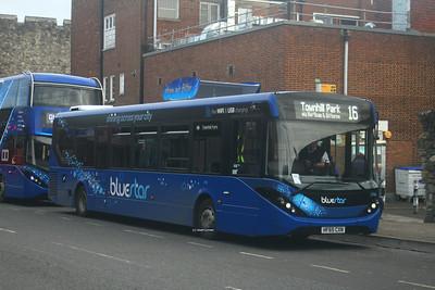 2740, HF65CXN, Bluestar, Bargates, Southampton.