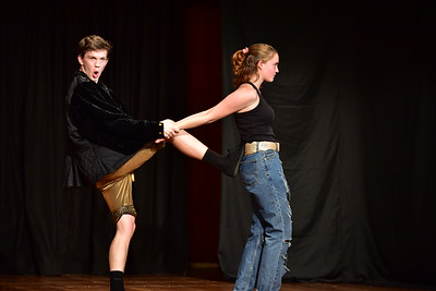 Newlands College: The Taming of the Shrew - Act II sc ii
