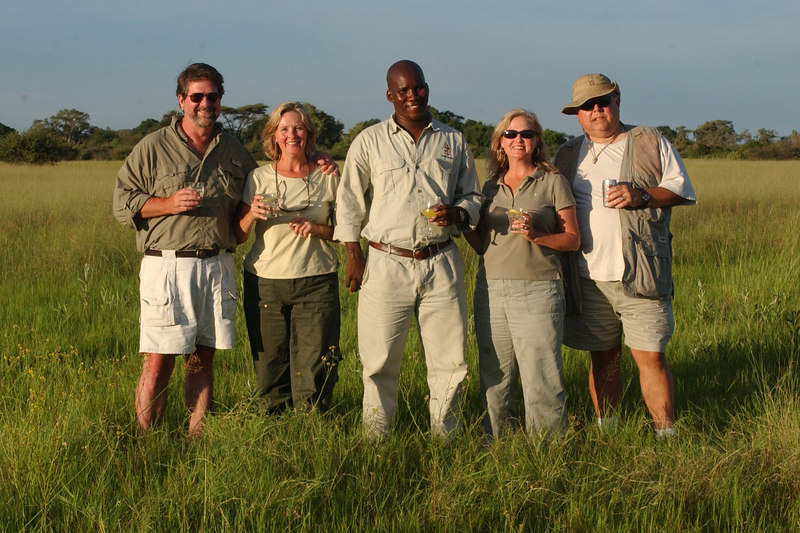 Boettichers & Gatlins in Africa 2007