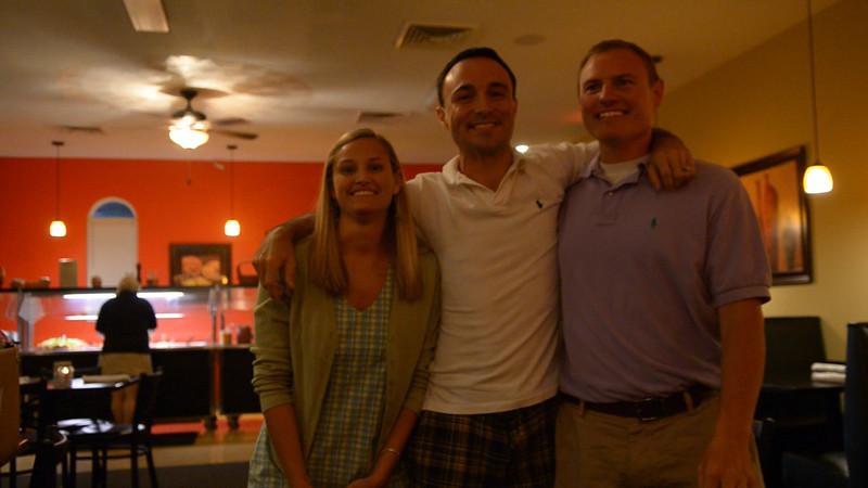 Stephanie Eason, Chris Webster, JG Ferguson