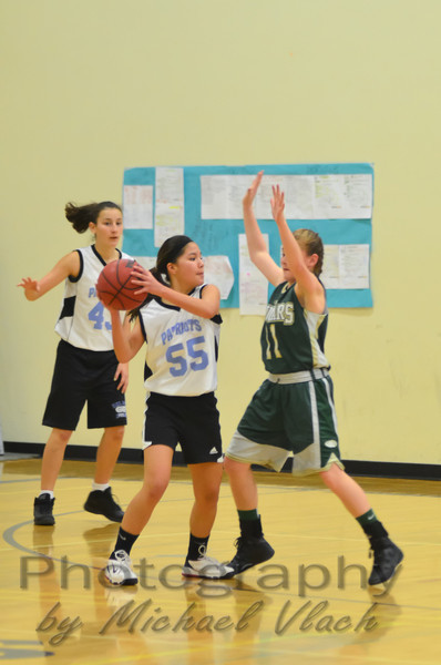 2012 CA Jacobs 8th Grade Girls YCAL vs Holmes