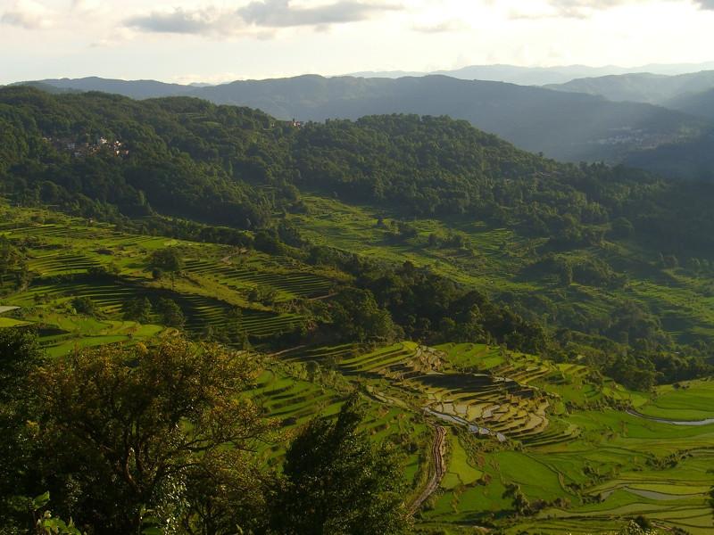 Yuanyang Landscapes - Yunnan, China