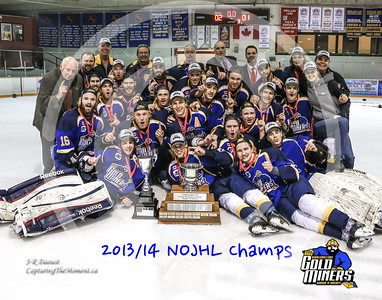 NOJHL League Champions Team Photo