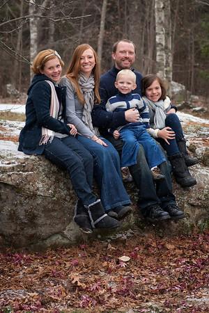 The Allen Family 2012