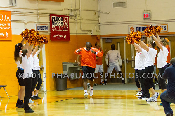 Nothing but Net - 1st Annual Boone Faculty Student Basketball Game - 2012