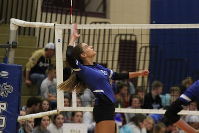 Iowa-Grant @ Mineral Point Volleyball 10-11-18