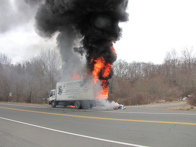 2/14/2012 Box Truck Fire Spencer Plains Rd